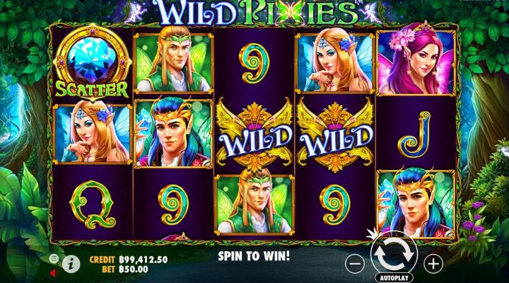 วิธีเล่น Wild Pixies Slot
