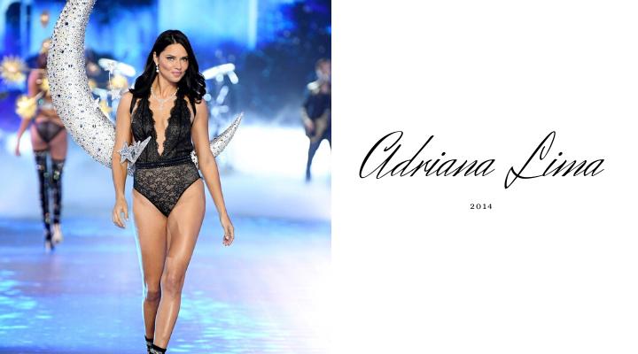 อาเดรียนา ลิมา (Adriana Lima) (พฤษภาคม 2014)